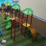 Детская игровая площадка в отеле Александрия
